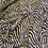 Thumbnail: Mocha Zebra Polyester Georgette