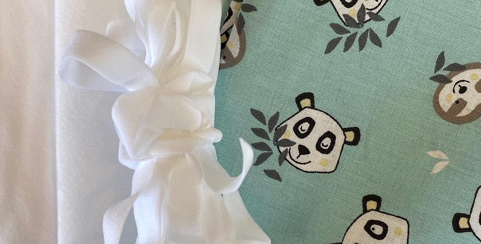 Panda party spearmint face mask kit (makes 3 masks)