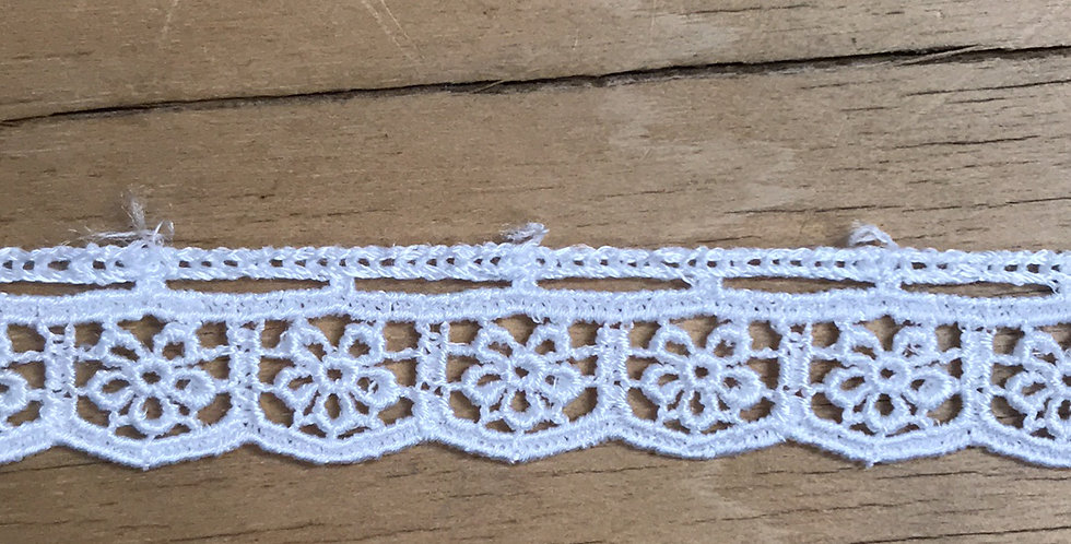 Flower box lace