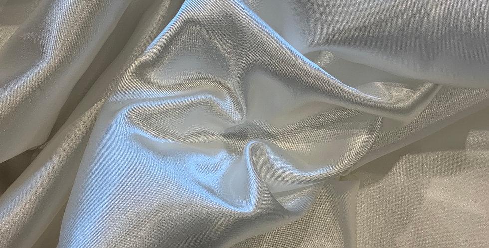 3mtr Bundle White Acetate Satin Lining