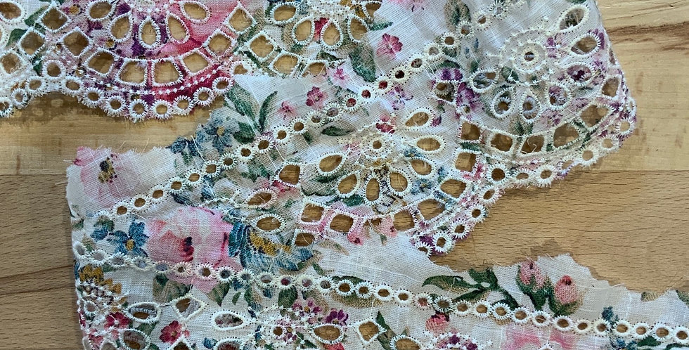 Florence embroidered lace trim