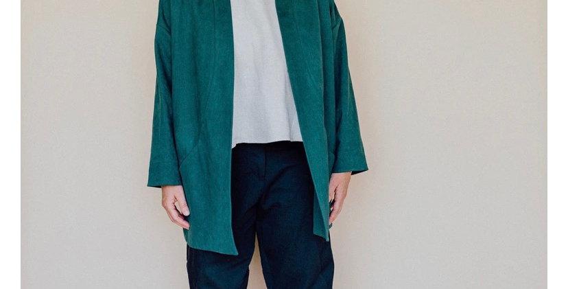 in the folds flynn jacket printed pattern