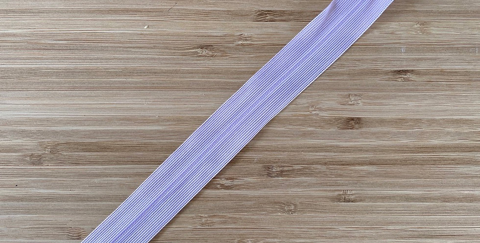 25cm mauve invisible zip