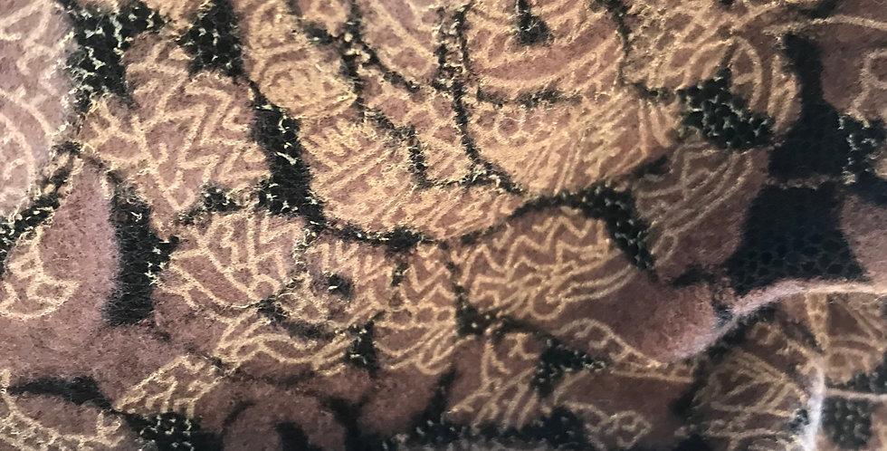 Mia flocked burnout knit