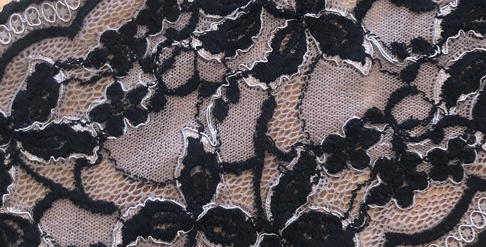 Taupe Night Stretch Lace....