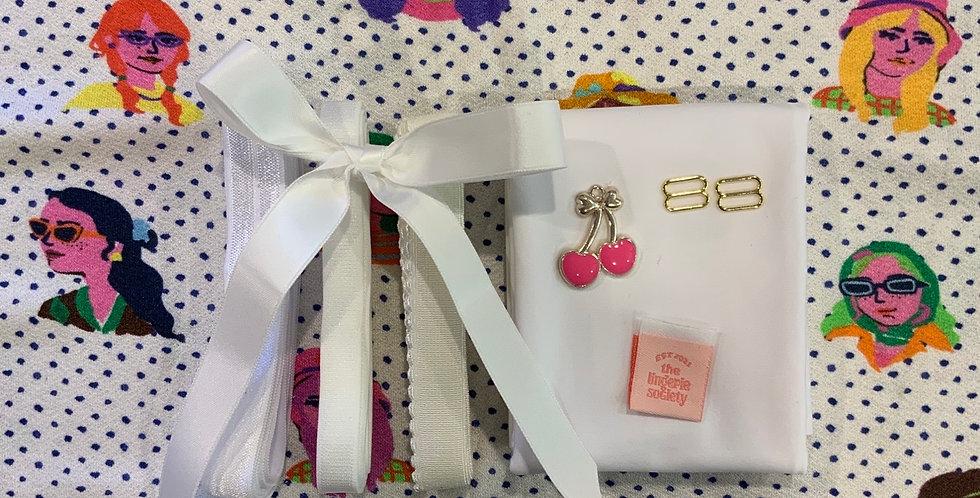 Lady McElroy Spotting Fashion Ruby Bralette Kit …