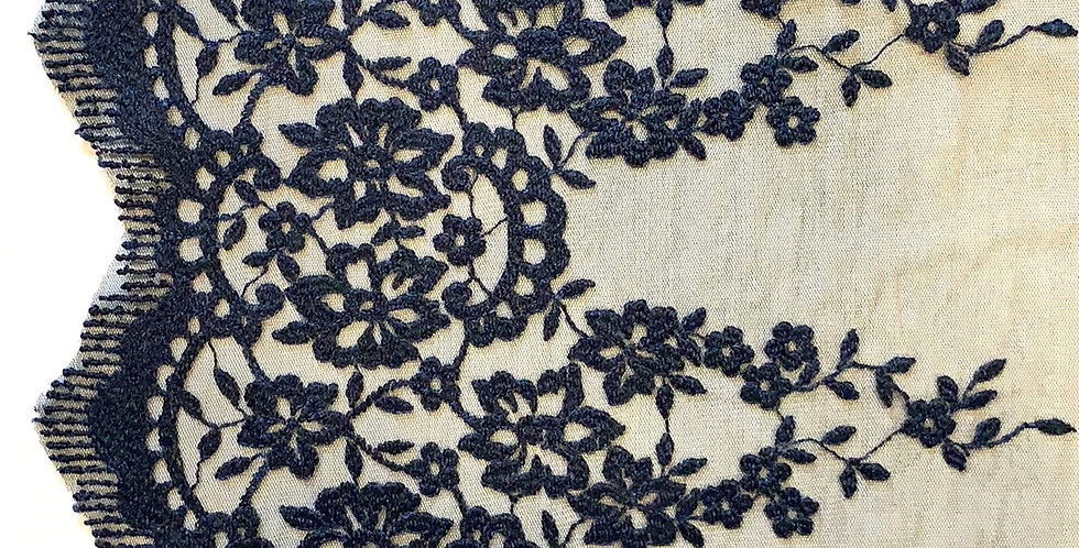 Victoria Embroidered Tulle Lace...
