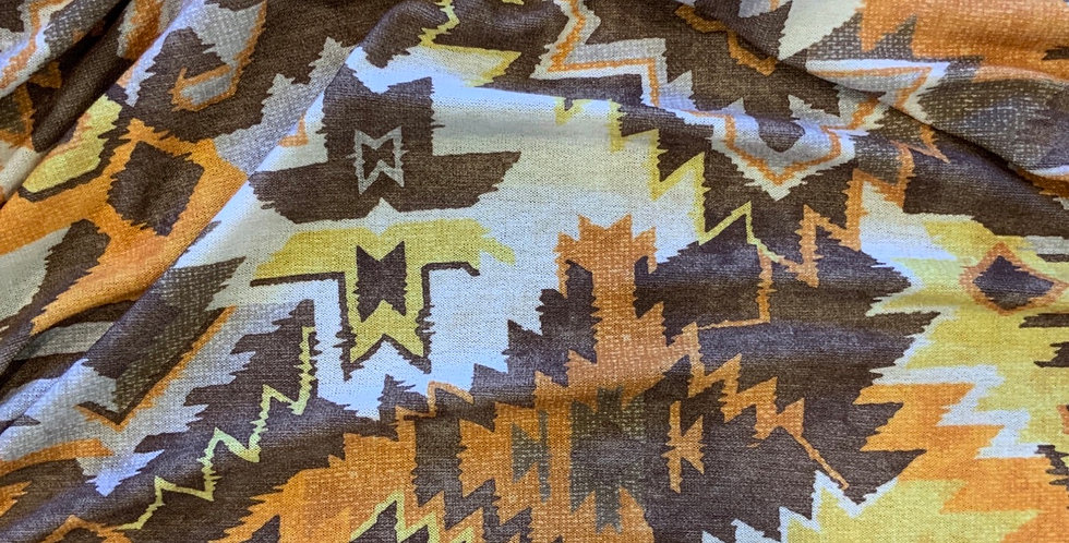 Aztec Lightweight Soft Polyester Knit Remnant...