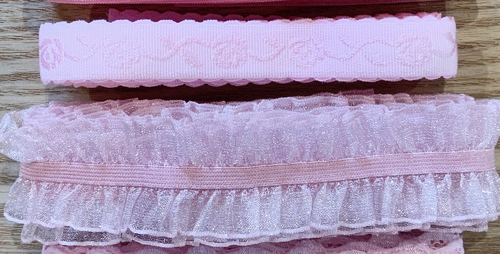 Marshmallow Pink Stretch Trim Pack...
