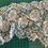 Thumbnail: Ivory French Chantilly Hand Beaded Lace Piece #4012