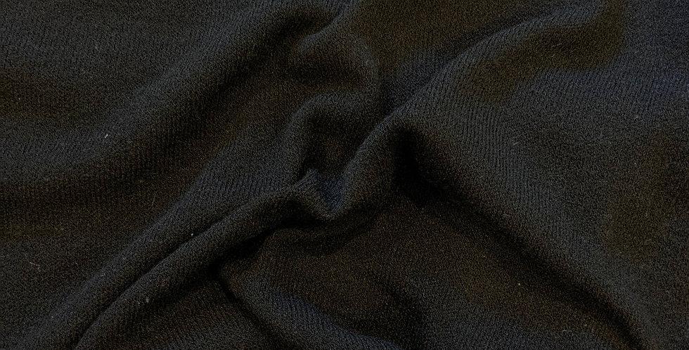 Black Lightweight Soft Jumper Knit Remnant