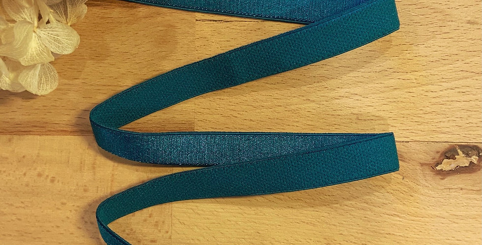 Peacock 12mm Satin Strapping Elastic…