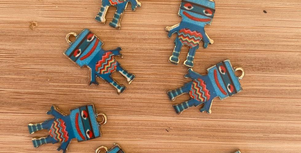 Ziggy robot charm