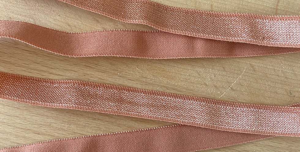 Pale sienna satin lightweight strapping