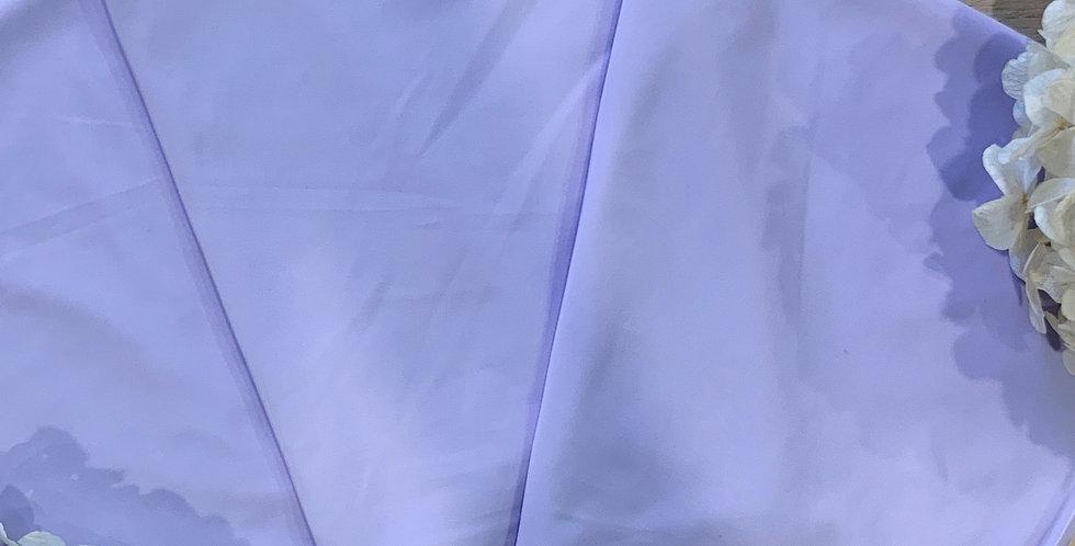 Lilac Silk Touch Lingerie Lycra 50cm Piece...