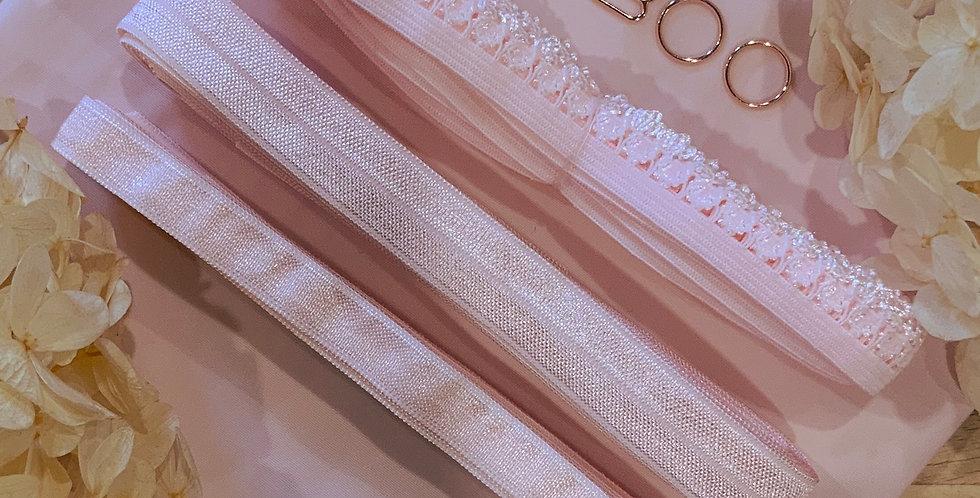 Pink Stretch Lingerie Essentials Kit...
