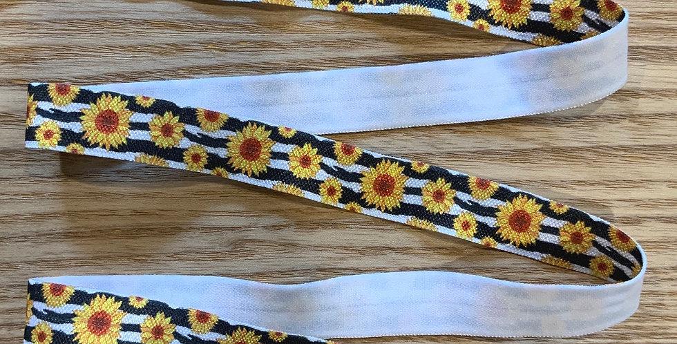 Sunflower Foldover Elastic 3.5mtr Roll...