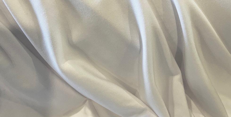 Softest Lightweight White Spandex....
