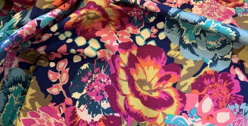 Art Gallery Fabrics ACQUA DI ROSE BOHO Knit 50cm piece…
