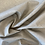 Thumbnail: Coated natural print viscose linen remnant