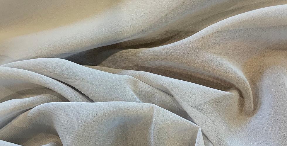 Cloud Grey Polyester Georgette....