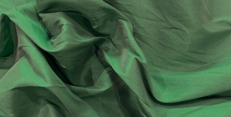 Emerald Fine Taffeta Remnant