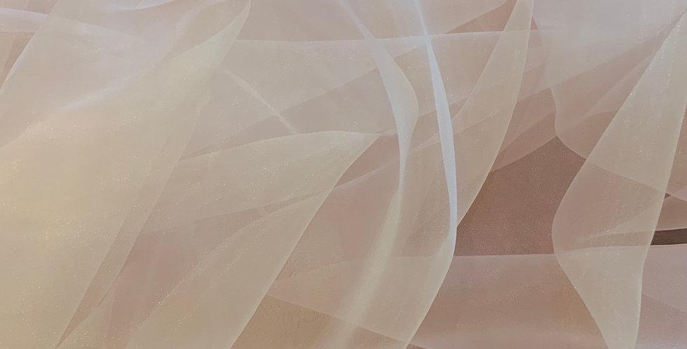 Baby Pink Polyester Organza 3mtr Bundle