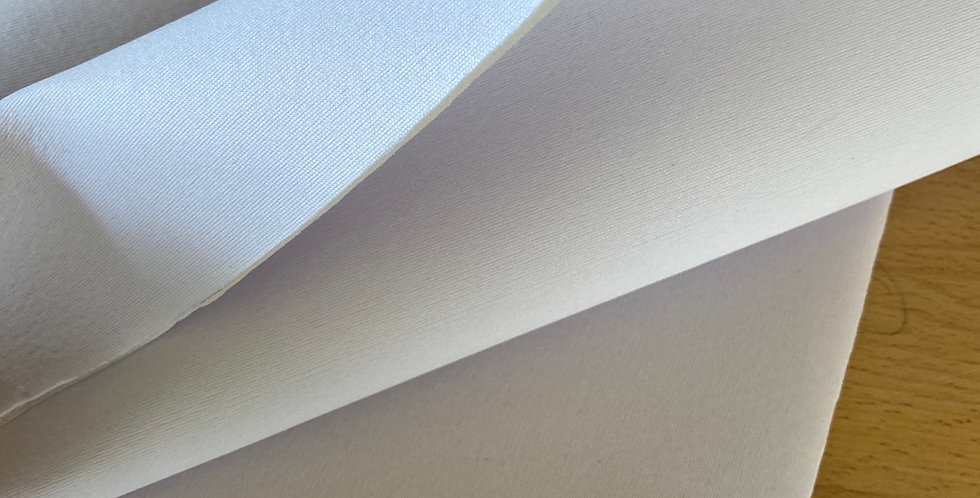 White bra padding