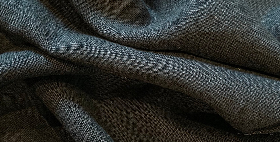 French Navy Midweight Linen....