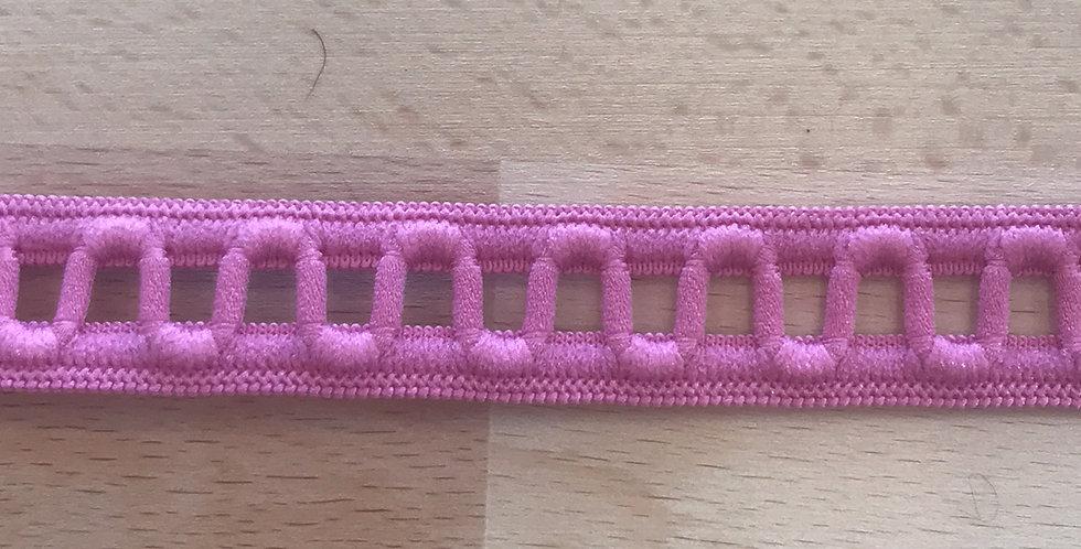Pink Stretch Insertion Trim 2.5mtr piece