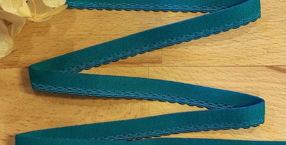 Peacock 12mm Picot Elastic..