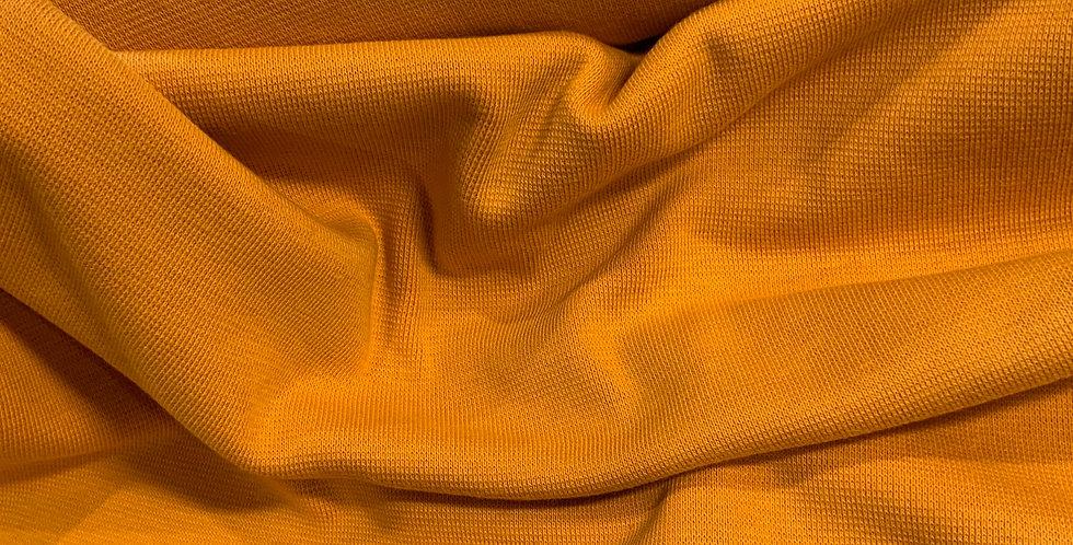 Paapii Ochre Organic Cotton Ribbing 25cm piece