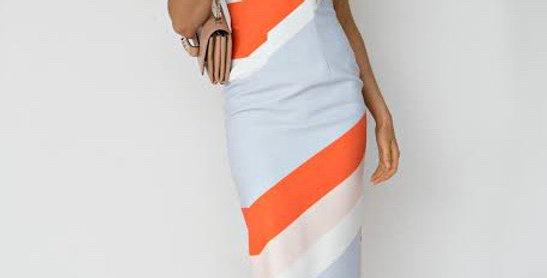 St Lucia Designer Dress Panel...