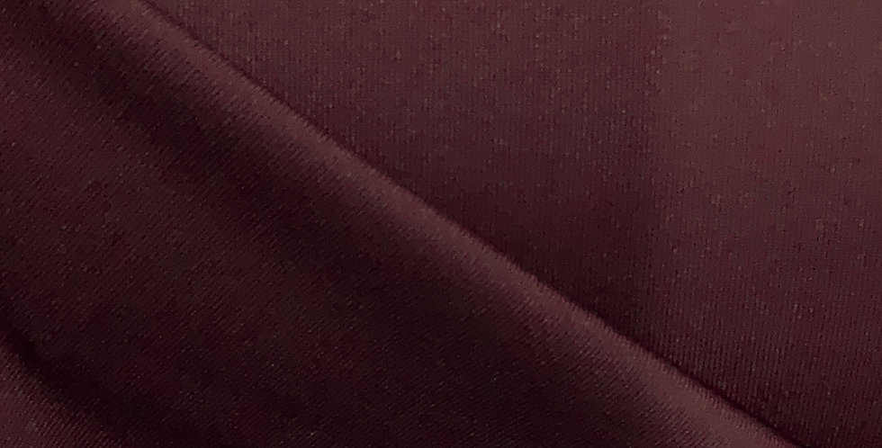 Maroon Silky Polyester Jersey Lining....