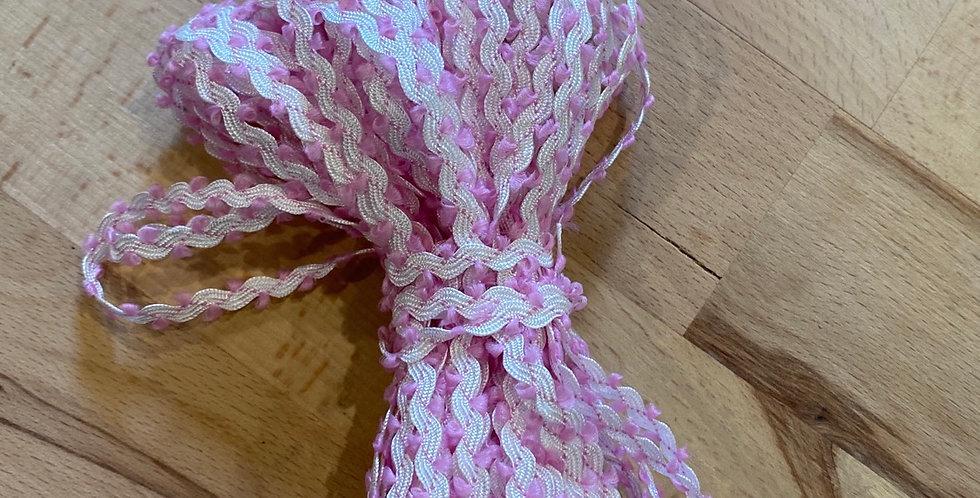 10 metre bundle mini ricrac pink