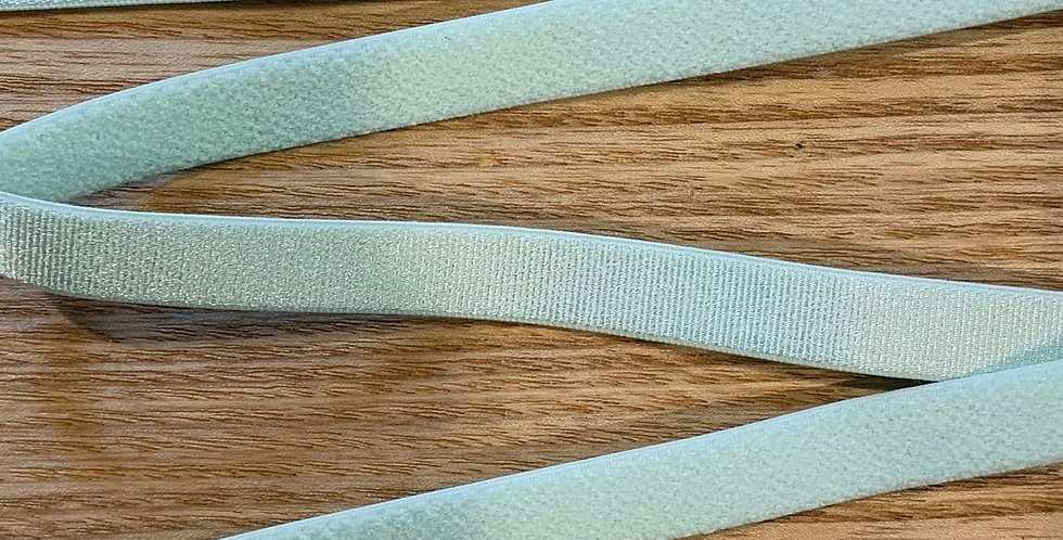 Mint Hand Dyed Satin Strapping Elastic...
