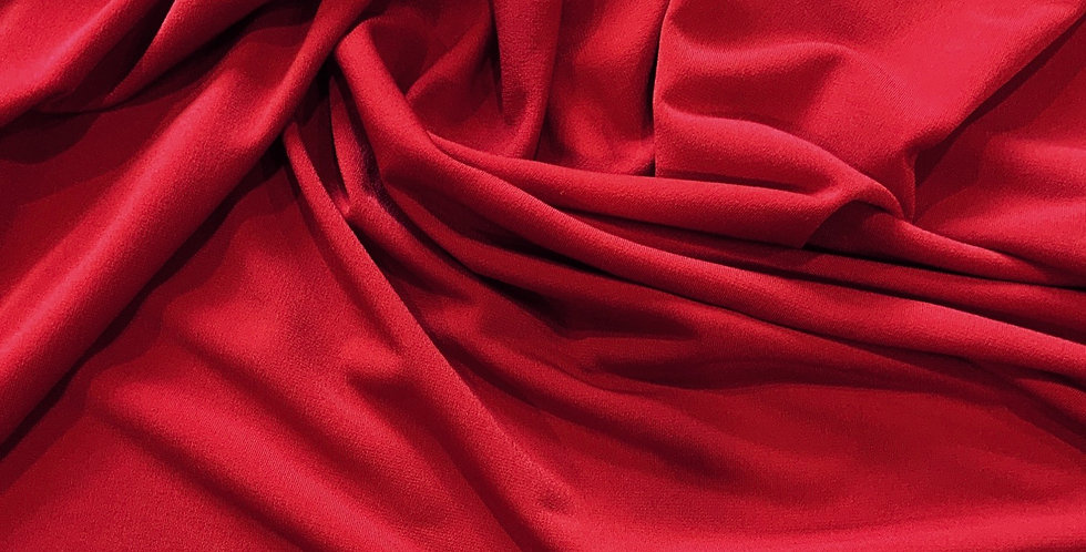 Red Polyester Jersey Remnant...