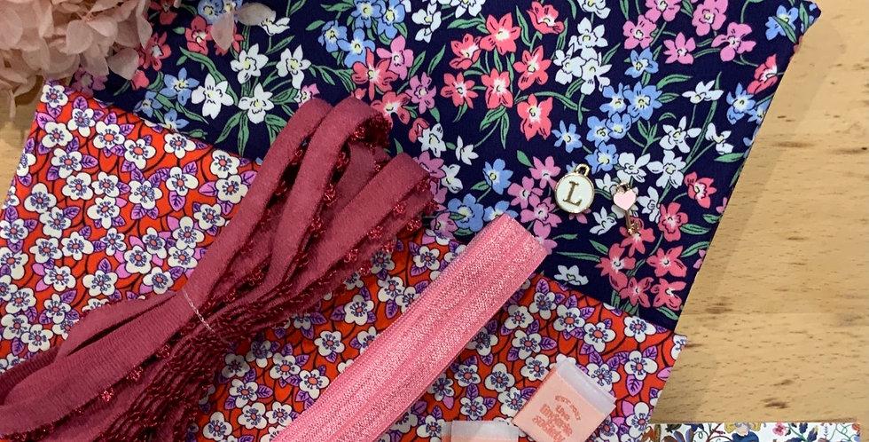 Liberty Pink Blossom Knickers Kit...
