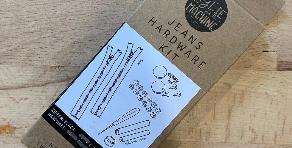 KATM Jeans Hardware Kit Black/Gold