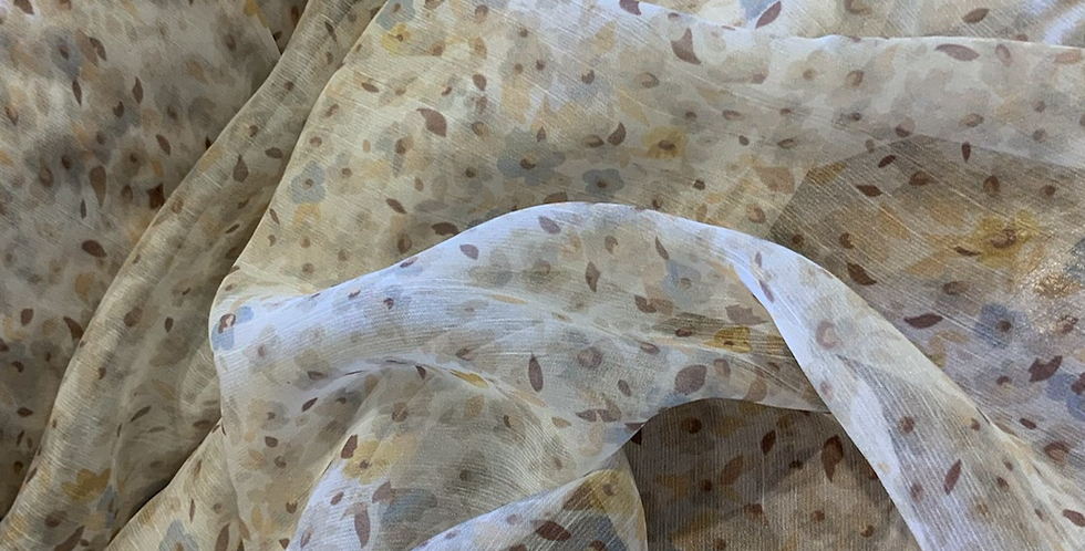 Anasi Fine Crinkle Polyester Chiffon