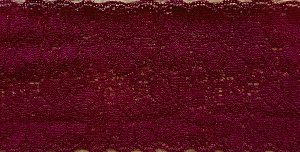 Burgundy Stretch Lace...