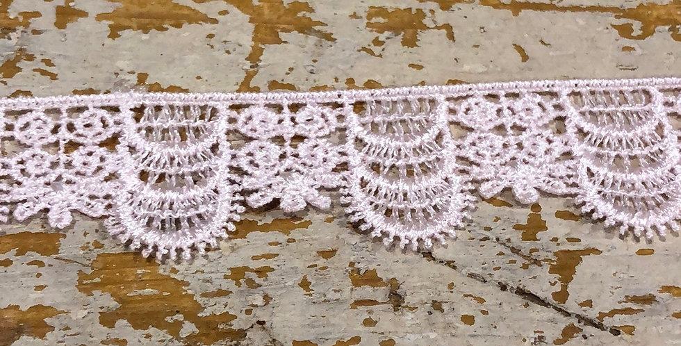 Regency lace trim