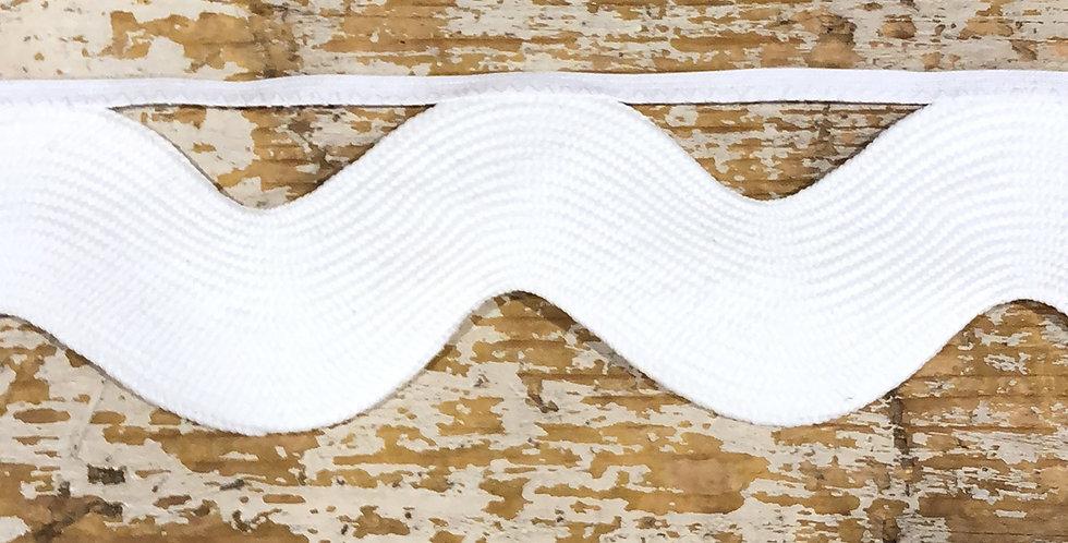 Ric Rac XL Edging Winter White