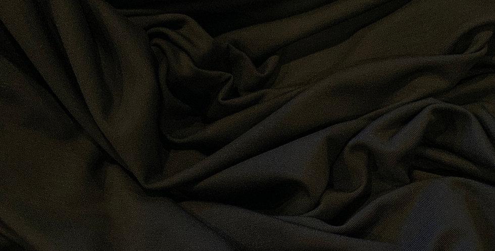 Softest Black Bamboo Single Knit Jersey…