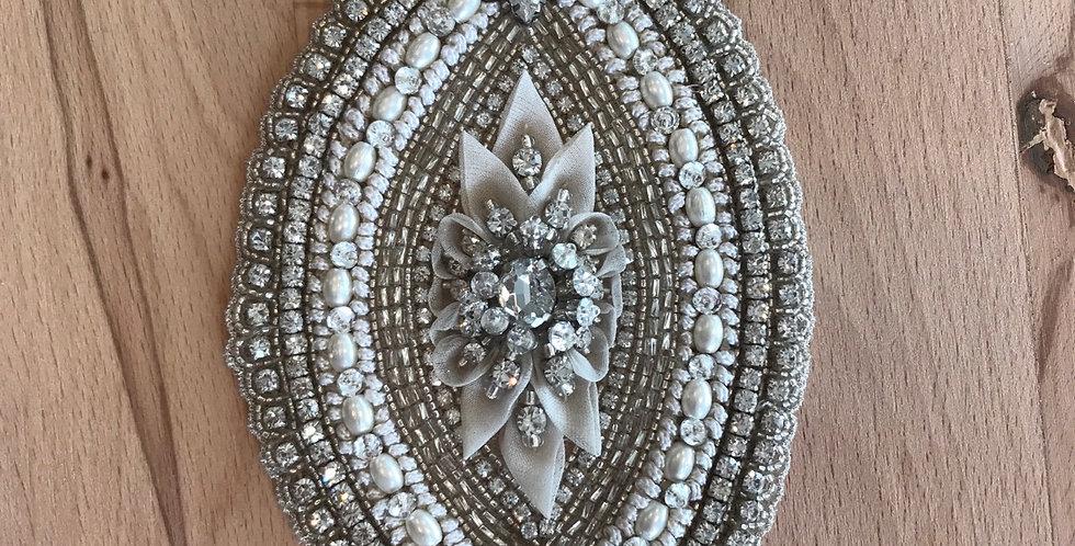 Fleur diamanté bridal motif