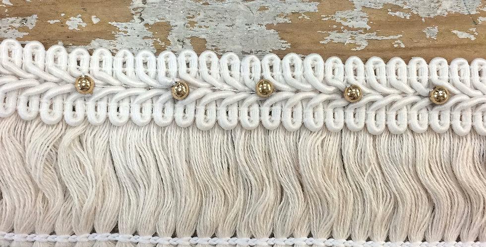 Embellished cotton Fringe