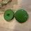 Thumbnail: Large Apple Green Coat Button...