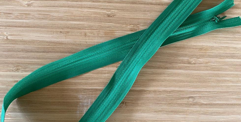 Emerald 55cm invisible zip
