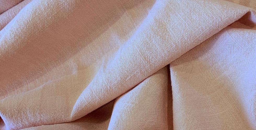 Pale Peach Vintage Wash Linen....