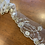 Thumbnail: Silver Embroidered Edgind Lace Off Cut #7009